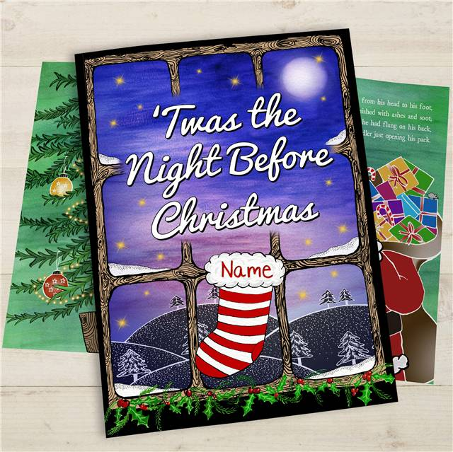 twas the night before christmas personalised book - Twas The Night Before Christmas Decorating Ideas