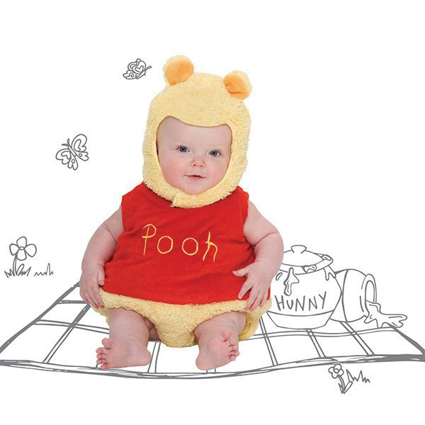 Disney Baby Winnie Pooh Tabard Dress