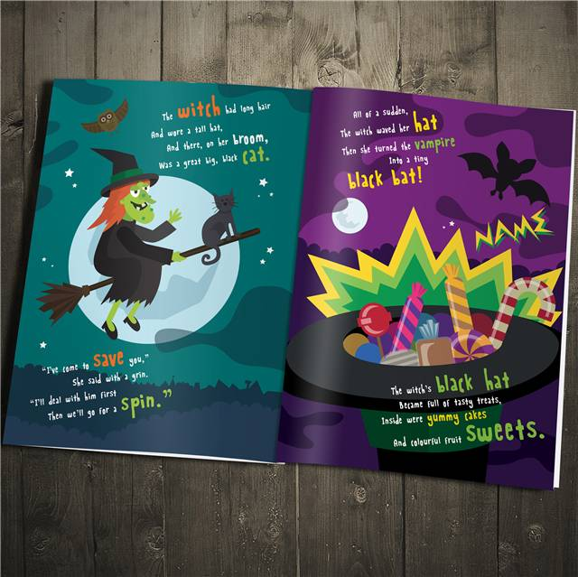 halloween night story book category occasions