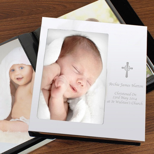 Personalised Cross Photo Album