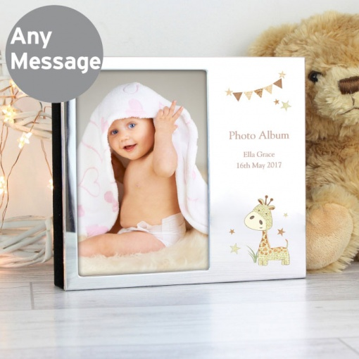Personalised Giraffe Photo Album