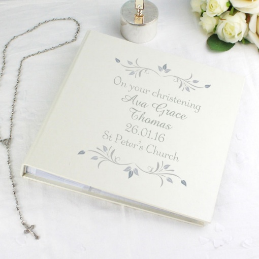 Personalised Sentiments Album with Sleeve