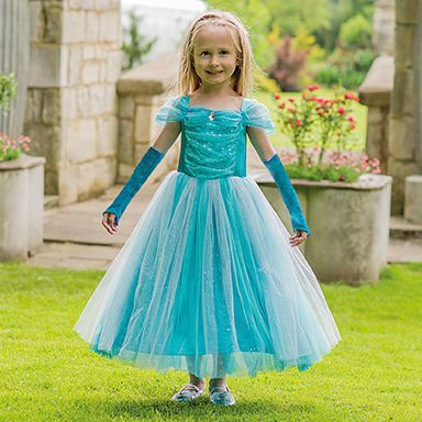 Turquoise Sparkle Princess - Fudge Kids