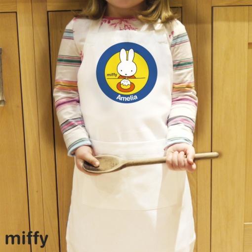 Personalised Miffy Kids Apron