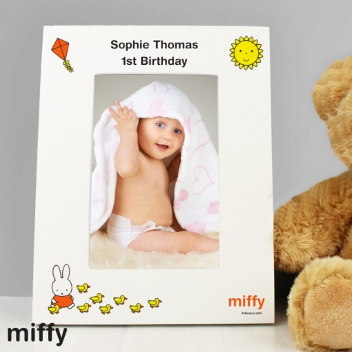 Personalised Miffy Photo Frame