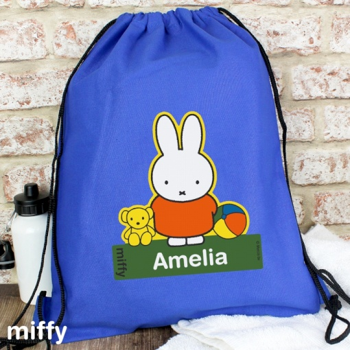 Personalised Miffy Swim & Kit Bag