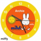 Personalised Miffy Wooden Clock